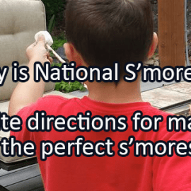 Writing Prompt for August 10: S'mores