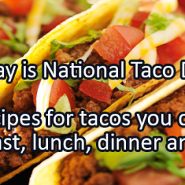 Writing Prompt for October 4: Tacos!