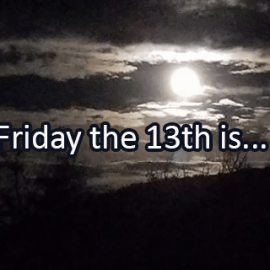 Writing Prompt for October 13: Friday the 13th