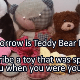 Writing Prompt for September 8: Teddy Bear