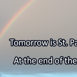 Writing Prompt for March 16: St. Patrick's Day