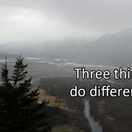 Writing Prompt for January 4: Different in 2019