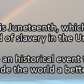 Writing Prompt for June 19: Juneteenth