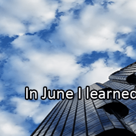 Writing Prompt for June 28: Learned in June