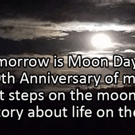 Writing Prompt for July 19: Moon