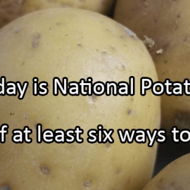 Writing Prompt for August 19: Potatoes