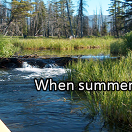 Writing Prompt for August 28: End of Summer