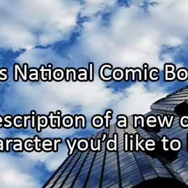 Writing Prompt for September 25: Comic Books