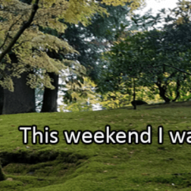 Writing Prompt for October 18: Try This Weekend