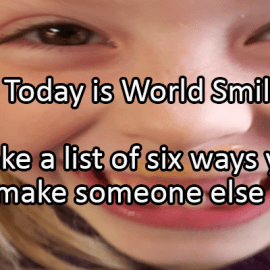 Writing Prompt for October 2: Smile!