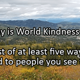 Writing Prompt for November 13: Kindness