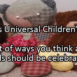 Writing Prompt for November 20: Universal Children's Day