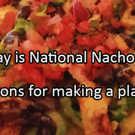 Writing Prompt for November 6: Nacho Day