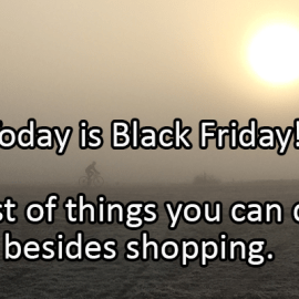 Writing Prompt for November 29: Black Friday