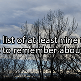 Writing Prompt for December 31: Remember