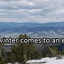 Writing Prompt for March 4: Winter End