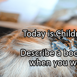 Writing Prompt for April 2: Children's Book Day