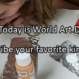 Writing Prompt for April 15: World Art Day