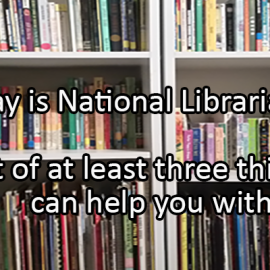 Writing Prompt for April 16: Librarians