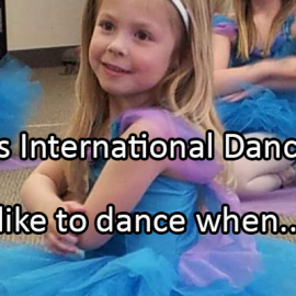 Writing Prompt for April 29: Dance Day