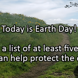 Writing Prompt for April 22: Earth Day