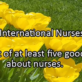 Writing Prompt for May 12: Nurses Day