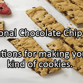 Writing Prompt for May 15: Chocolate Chip Cookies