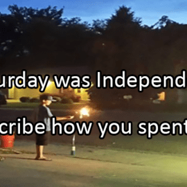 Writing Prompt for July 6: Independence Day Reflection
