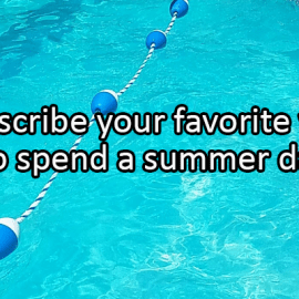 Writing Prompt for July 14: Summer Day