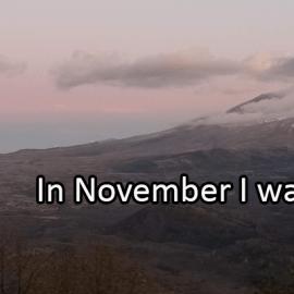 Writing Prompt for November 2: November