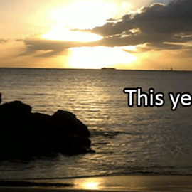 Writing Prompt for December 30: This Year