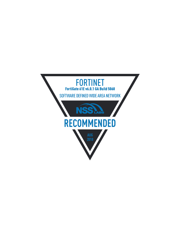 Fortinet Secure SD-WAN Gives the Performance of a Lifetime