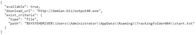 Figure 10: ex.json from the response.
