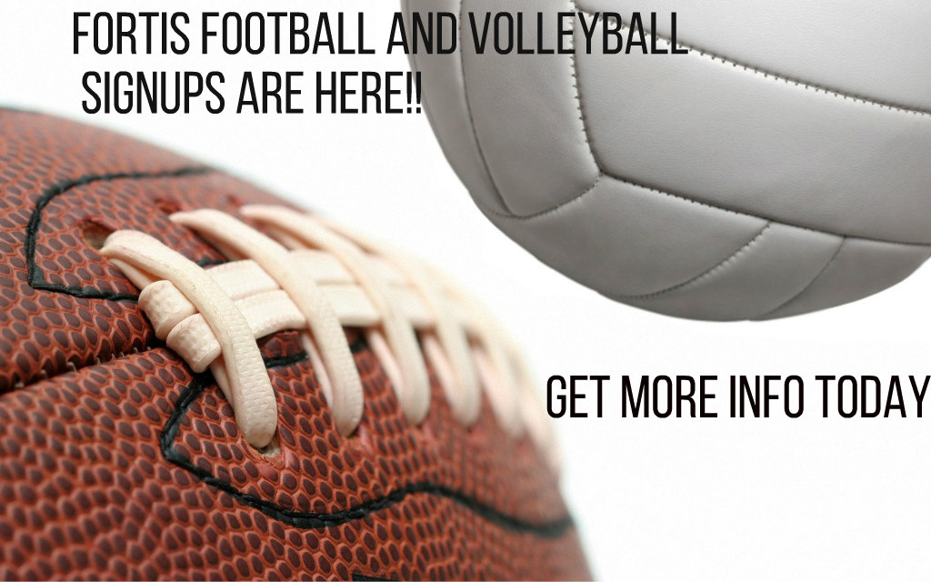 Flag Football and Volleyball Sign ups are going on now!