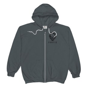 Fortis Classic Mens Zip Hooded Sweatshirt