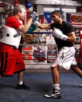 amir khan training