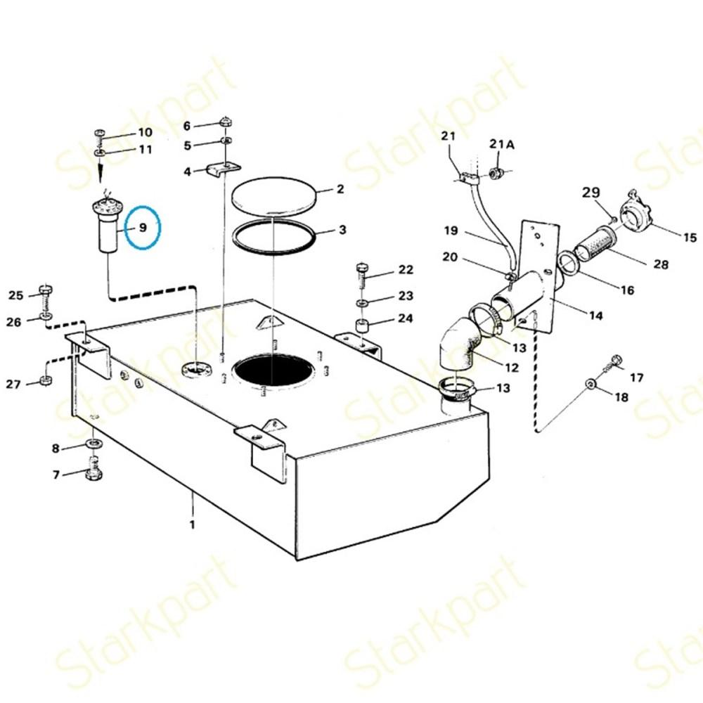 medium resolution of truck volvo pentum fuel filter
