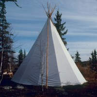 Traditional 10oz Canvas Tipis for Sale | Fort McPherson Tent