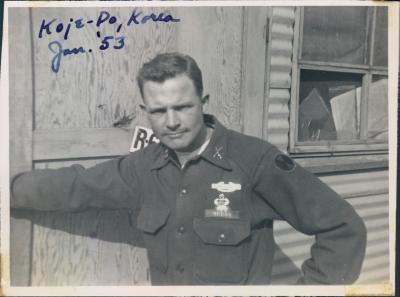 Hal Moore at Koje Do Korea