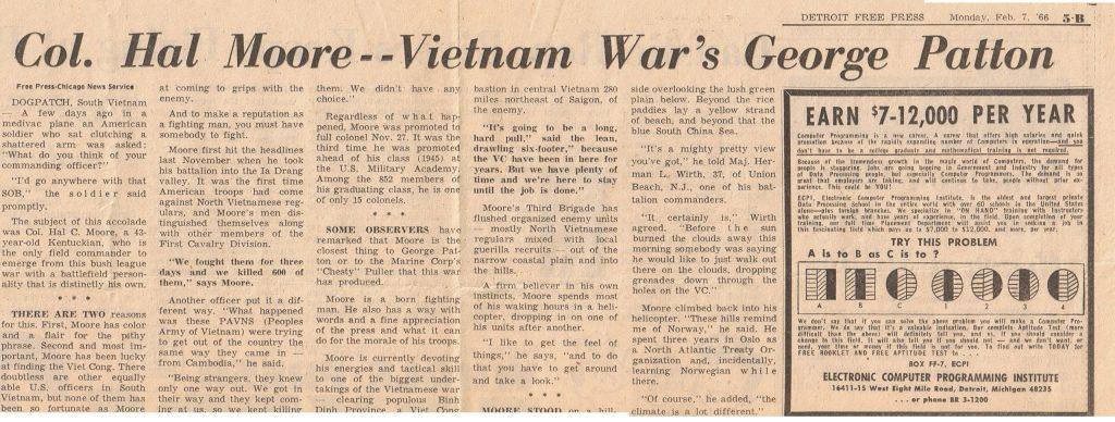 Hal Moore - Vietnam War Patton