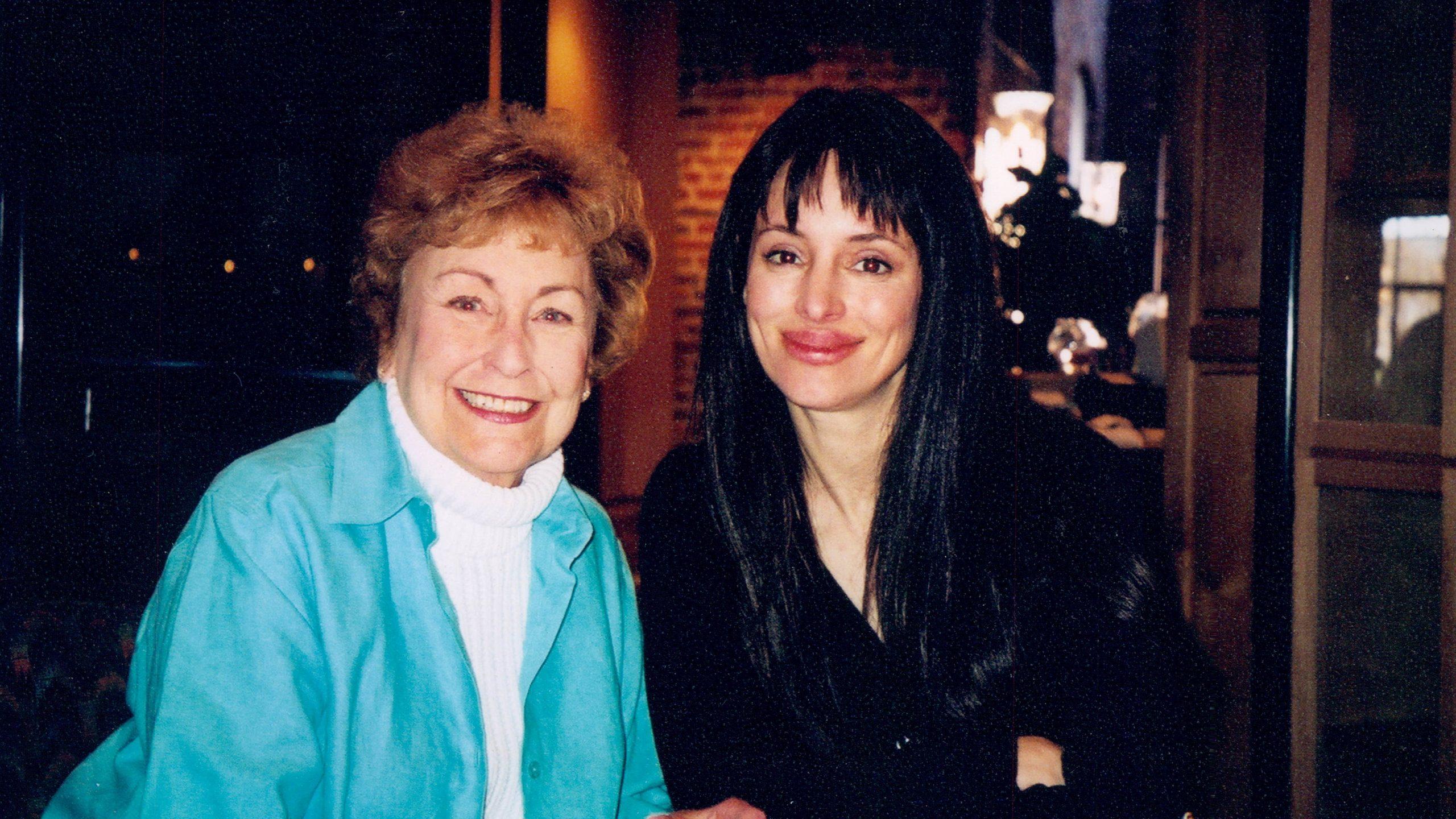 Julie Moore and Madeleine Stowe