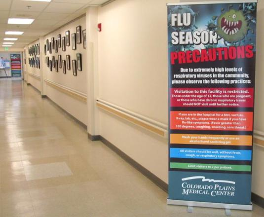 Health: Flu precautions and restrictions activated at Colorado ...
