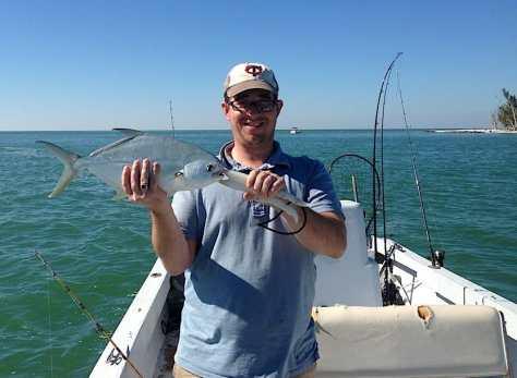 Pompano, January, Redfish Pass, Fort Myers, Sanibel & Captiva Charters & Fishing Guide Service.