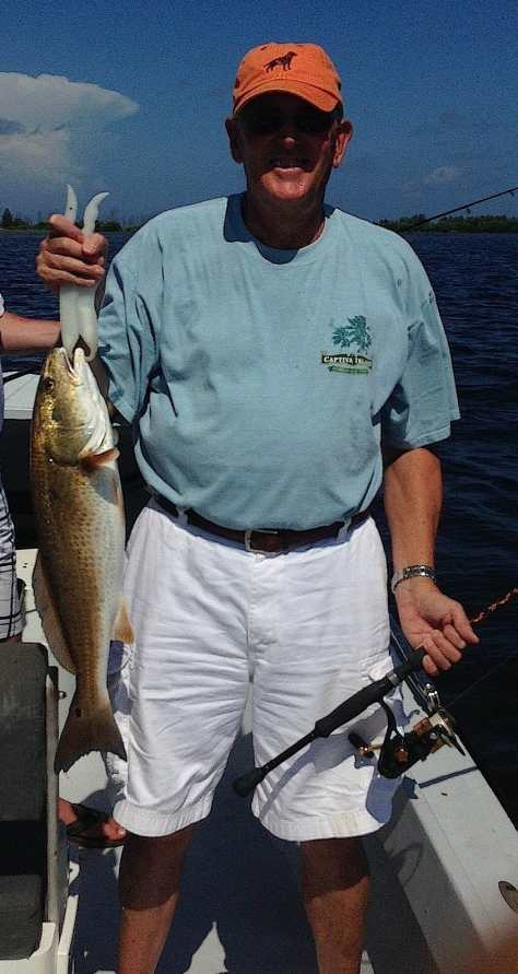 Redfish, August 19, Buck Key,  Fort Myers Fishing Report & Fort Myers Fishing Charters.
