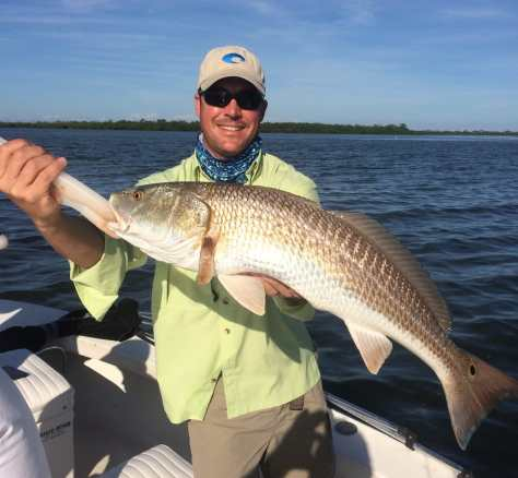 Fort Myers Fishing Report, Monday, November 16, 2015: Redfish #FortMyers.