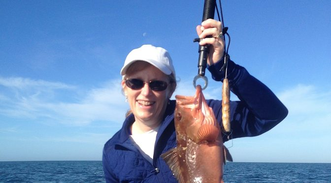Fort Myers Fishing Report, Red Grouper, Friday, January 20, 2017.