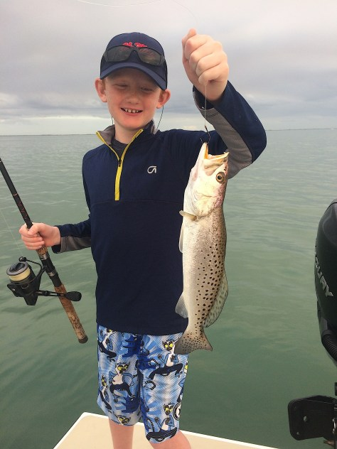 Fort Myers Fishing Report, Sea Trout, Friday, March 10, 2017.
