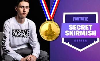 Bizzle wins $400,000 Fortnite Secret Skirmish Solo tournament
