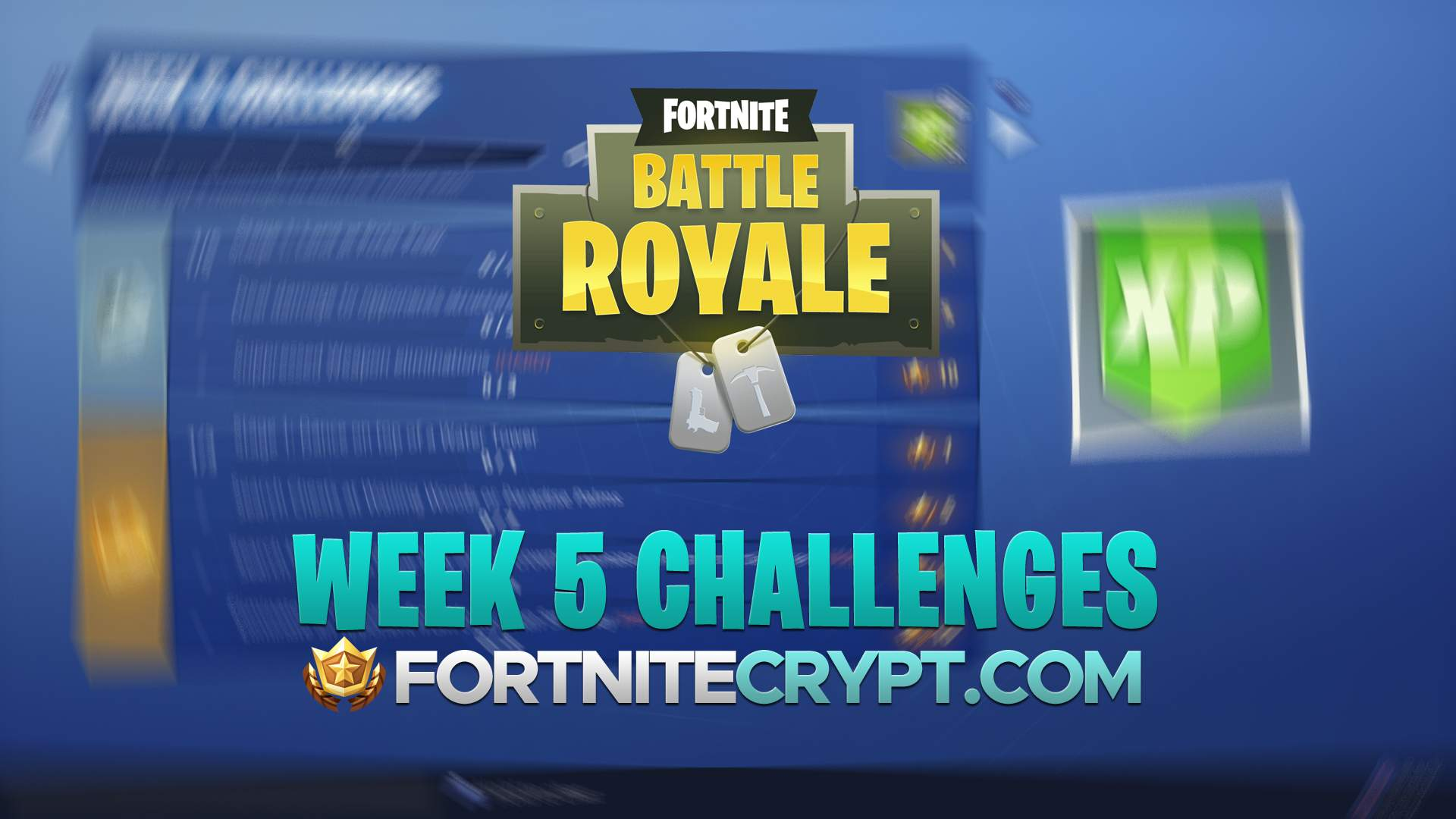 Fortnite Season 8 Week 5 Challenges And How To Complete Them