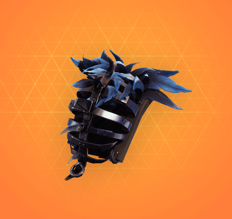 Legendary Pursuit Back Bling Fortnite Cosmetic
